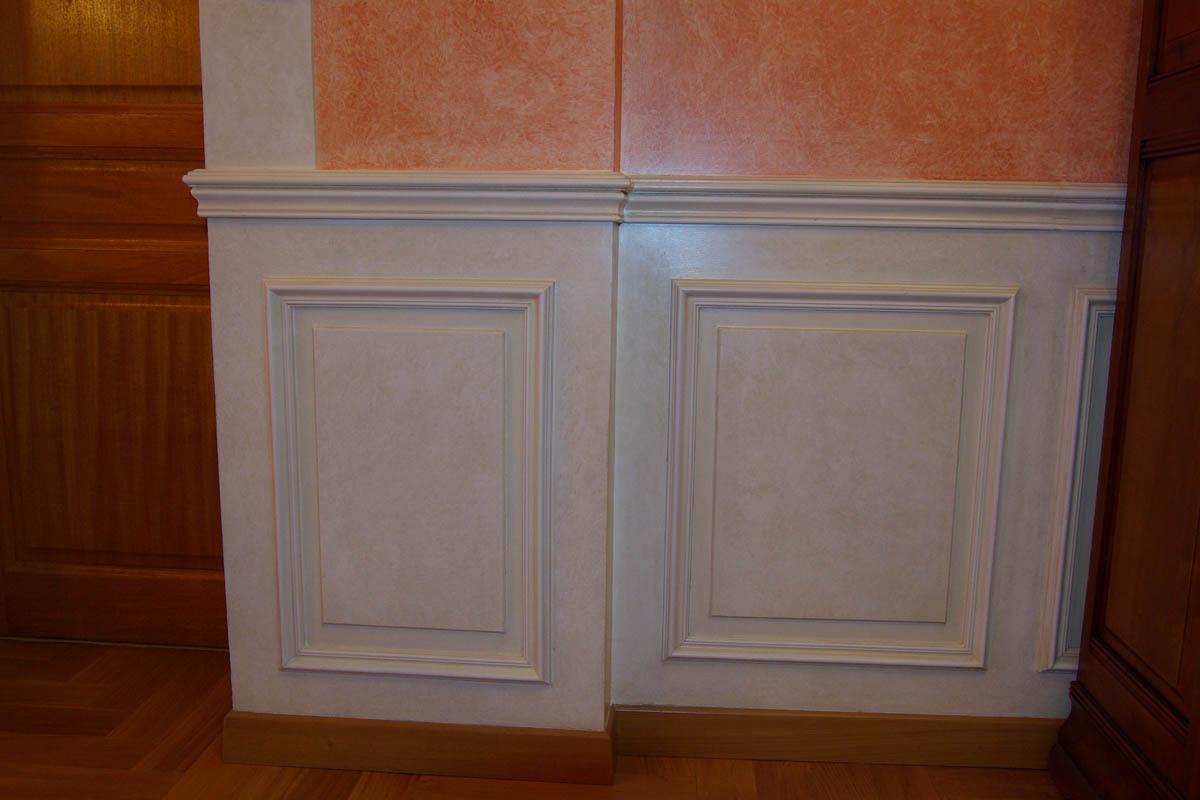 d cor de soubassements patine chiffonn e l huile atelier hersan. Black Bedroom Furniture Sets. Home Design Ideas
